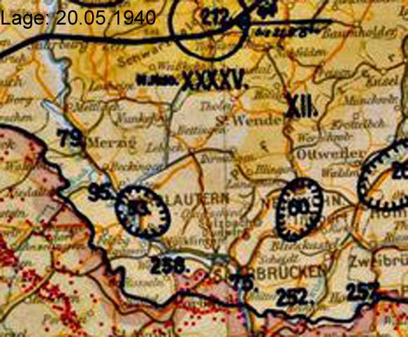 Gliederungen/Korps/Karte