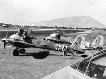 La Luftwaffe en el desierto 1941-1943 ZG1-1