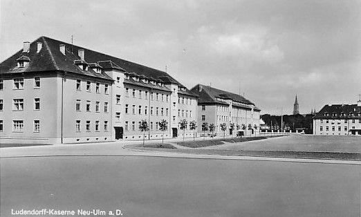 Neu-Ulm Germany  City new picture : Ludendorff Kaserne Neu Ulm Lexikon der Wehrmacht