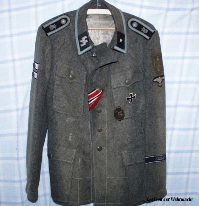 ss vs Wehrmacht Uniform Uniform Eines Waffen-ss